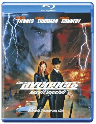 La cover del blu-ray di The Avengers - Agenti speciali