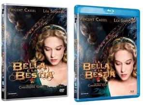 Le cover homevideo di La bella e la bestia