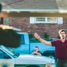 99 Homes: Andrew Garfield in una scena del film