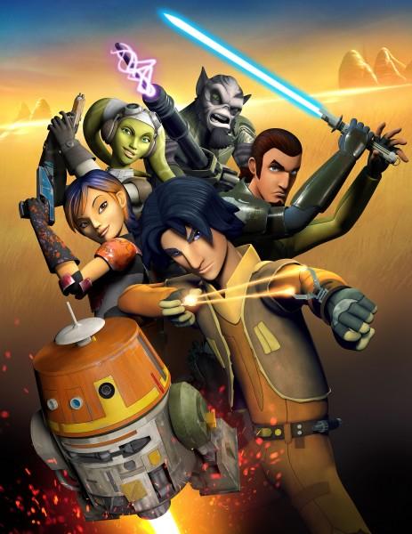 Star Wars Rebels: un manifesto per la prima stagione della serie