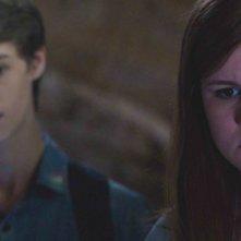 Under the Dome: Mackenzie Lintz e Colin Ford nell'episodio Awakening