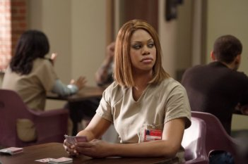 Orange Is the New Black: Laverne Cox in Little Mustascioed Shit