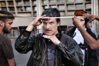 La vita oscena: il regista Renato De Maria sul set del film