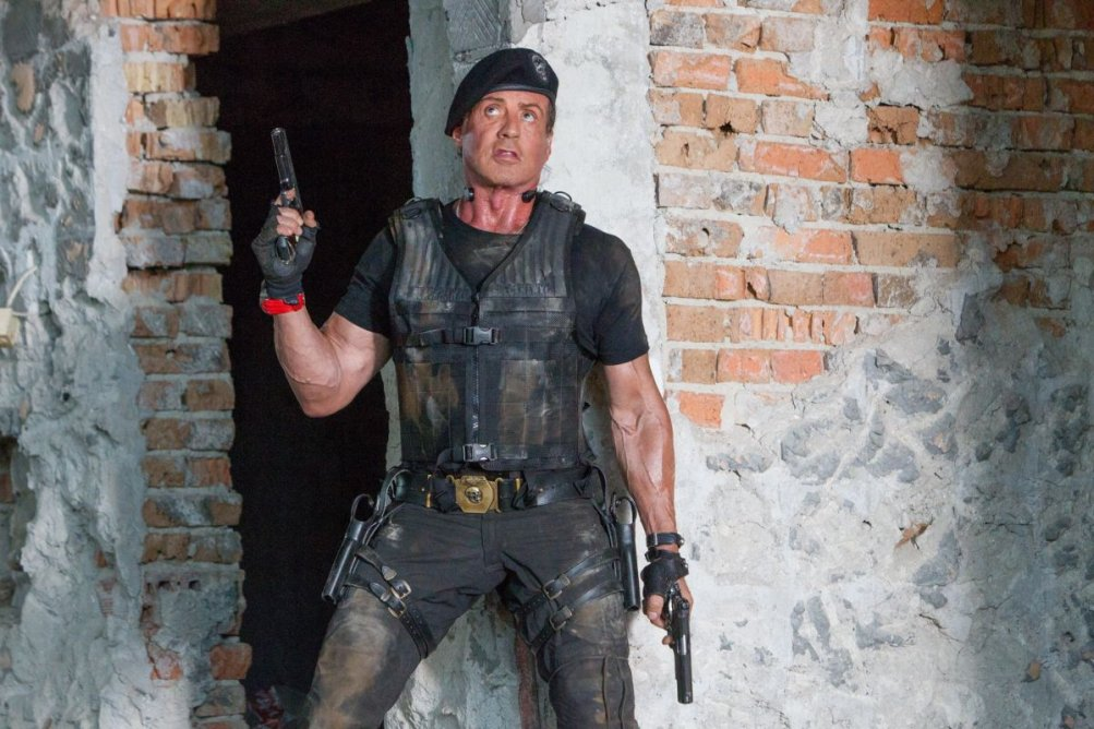 Sylvester Stallone è Barney Ross ne I mercenari 3 - The Expendables