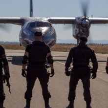 Una scena de I mercenari 3 - The Expendables
