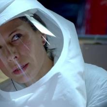 The Last Ship: un'mmagine di Rhona Mitra nell'episodio Trials