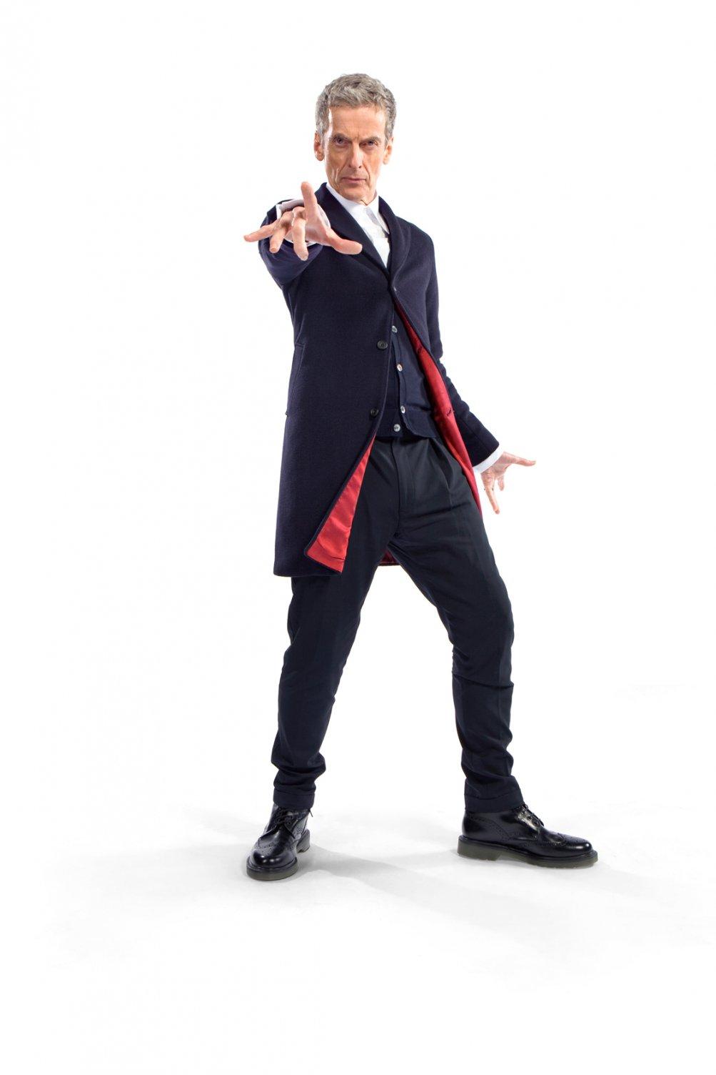 Doctor Who: La prima immagine ufficiale di Peter Capaldi nei panni del Dottore