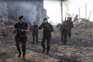 I mercenari 3 - The Expendables: una scena d'azione del film