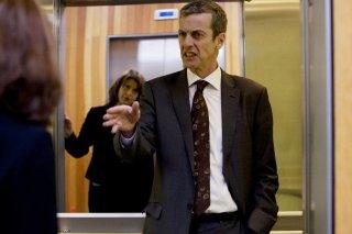 Peter Capaldi in una scena di Thick of It