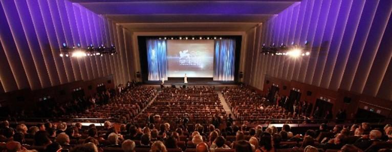 La Sala Grande del Palazzo del cinema del Lido di Venezia