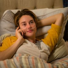 Colpa delle stelle: Shailene Woodley nei panni di Hazel in una scena