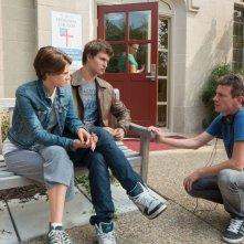 Colpa delle stelle: il regista Josh Boone sul set con Shailene Woodley e Ansel Elgort