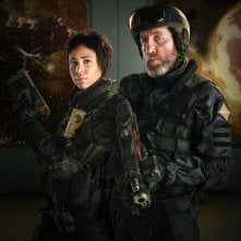 Doctor Who: Zawe Ashton e Michael Smiley nell'episodio Into the Dalek
