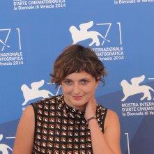 Venezia 2014: Alice Rohrwacher posa al photocall delle giurie