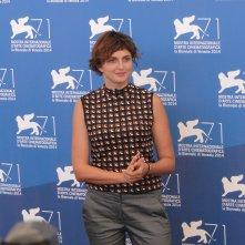 Venezia 2014: Alice Rohrwacher al photocall delle giurie