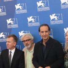 Venezia 2014: Tim Roth, Alexandre Desplat, Elia Suleiman e Jessica Hausner al photocall