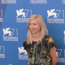 Venezia 2014: Jessica Hausner posa al photocall della giuria