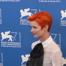 Venezia 2014: uno scatto di Sandy Powell al photocall delle giurie
