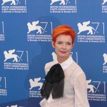 Venezia 2014: Sandy Powell posa al photocall delle giurie