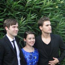 Before I Disappear: Paul Wesley, Fatima Ptacek e Shawn Christensen insieme al photocall del film di Venezia 71