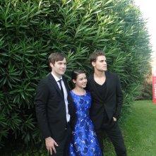 Before I Disappear: Paul Wesley, Fatima Ptacek e Shawn Christensen al photocall del film di Venezia 71