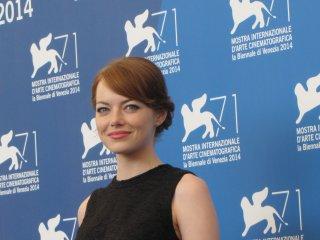la bella Emma Stone a Venezia 2014 per Birdman