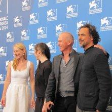 Il cast di Birdman alla Mostra di Venezia 2014