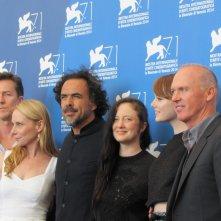 Birdman il cast del film alla Mostra del Cinema di Venezia 2014