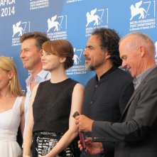 Il cast di Birdman alla Mostra del Cinema di Venezia 2014