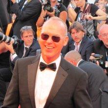 Venezia 2014, Michael Keatonsul red carpet della serata inaugurale