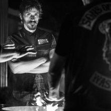 Sons of Anarchy: Niko Nicotera in una foto promozionale per l'ultima stagione della serie