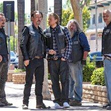 Sons of Anarchy: i Sons nella prmiere della settima stagione