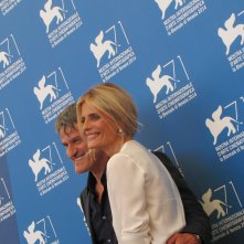 Renato De Maria e Isabella Ferrari a Venezia 2014 per La vita oscena
