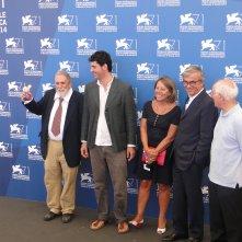 Tatti Sanguinetti a Venezia 2014 col cast di Giulio Andreotti, il cinema visto da vicino