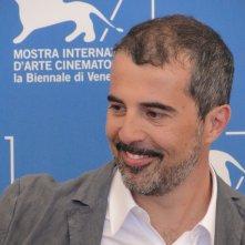 Venezia 2014: il regista Francesco Munzi posa al photocall di Anime nere