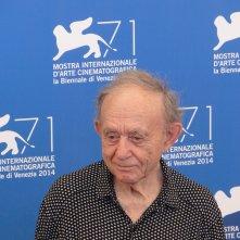 Frederick Wiseman, leone d'oro alla carriera,  al photocall di Venezia 2014