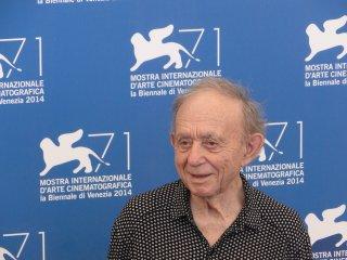 Il regista Frederick Wiseman al photocall di Venezia 2014