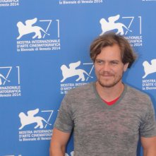 Venezia 2014: Michael Shannon posa al photocall di 99 Homes