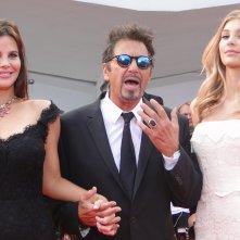 Al Pacino sfila sul tappeto rosso di Venezia 2014 per Manglehorn
