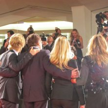 She's Funny That Way  - il cast e regista sul red carpet a Venezia 2014