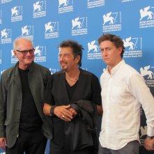 Al Pacino a Venezia 2014 con Barry Levinson e David Gordon Green per Manglehorn e The Humbling