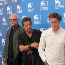 Al Pacino a Venezia 2014 con Barry Levinson e David Gordon Green per presentare Manglehorn e The Humbling