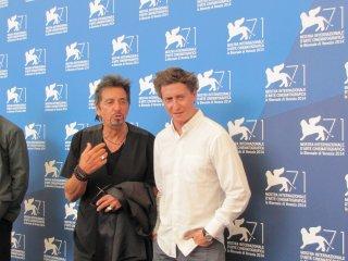 Manglehorn a Venezia 2014 - Pacino con David Gordon Green
