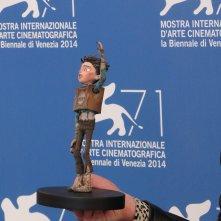 Boxtrolls: il modello di Uovo al photocall di Venezia 2014