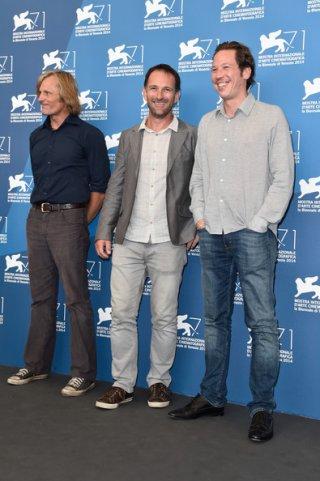 Venezia 71: Viggo Mortensen, Reda Kateb e il regista di Loin des hommes David Oelhoffen