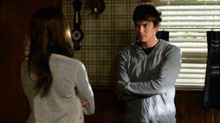 Pretty Little Liars: un'immagine di Tyler Blackburn nell'episodio March of Crimes