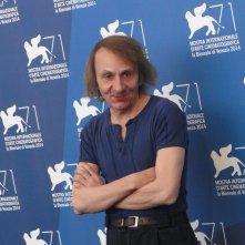 Venezia 2014: Michel Houellebecq al photocall di Near Death Experience