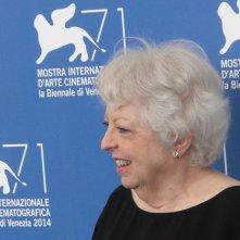 Venezia 2014: Thelma Schoonmaker sorride al photocall