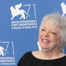 Venezia 2014: il Leone d'oro alla carriera, Thelma Schoonmaker, al photocall