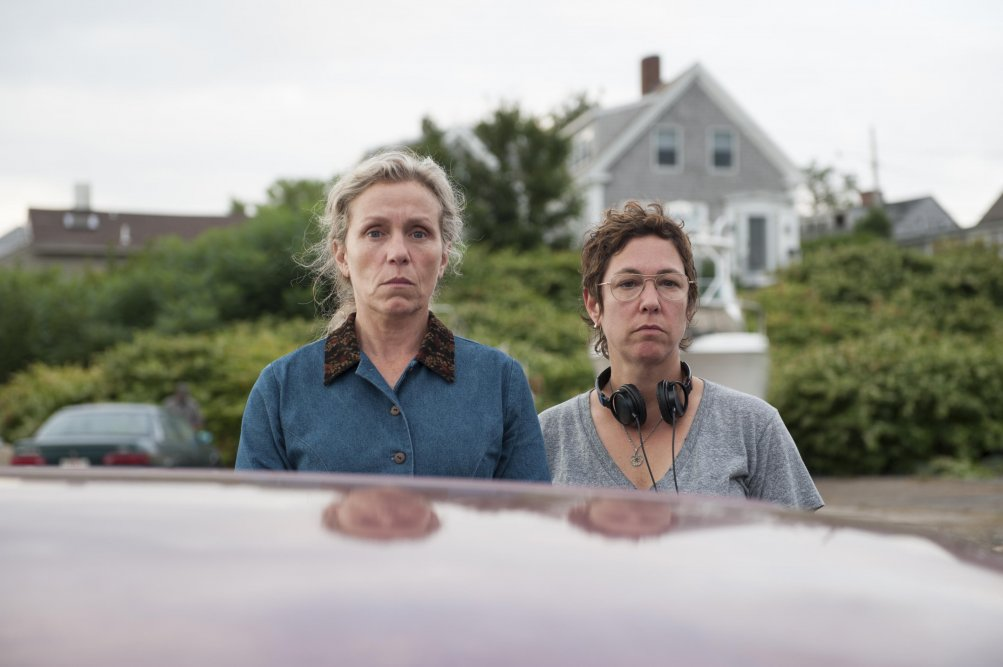 Olive Kitteridge: Lisa Cholodenko e Frances McDormand sul set